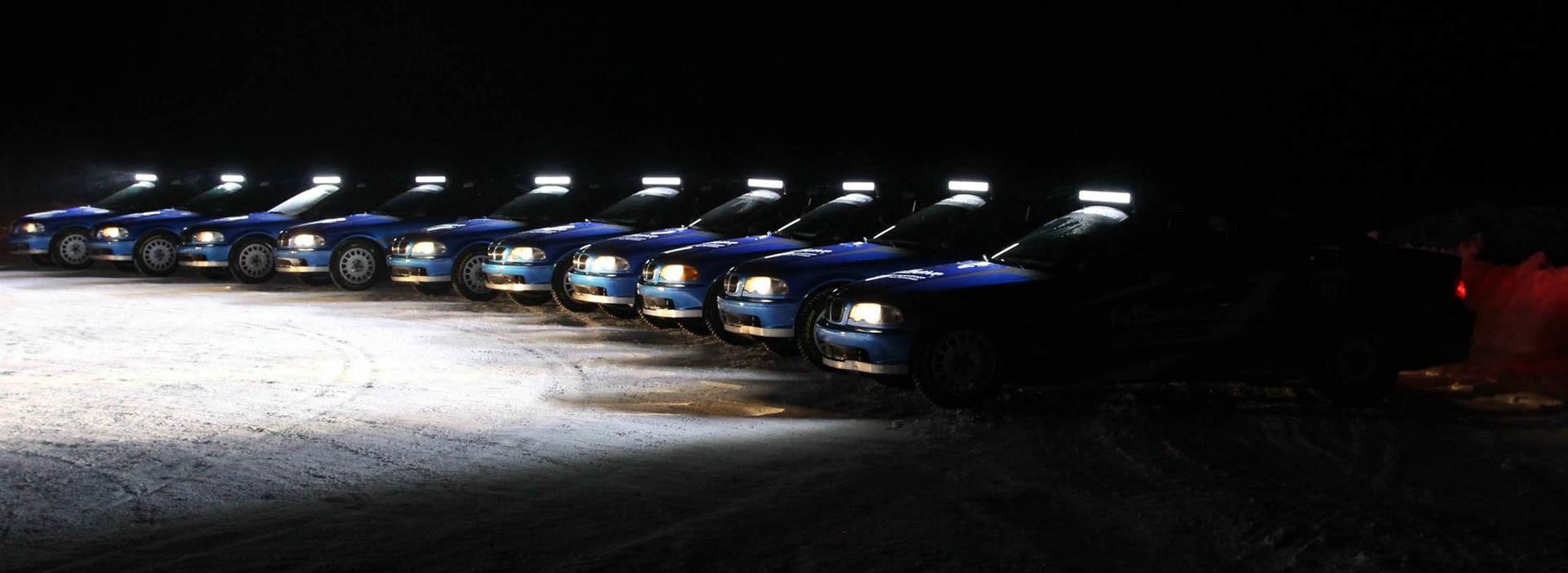 Stage en Laponie, Stages sur glace en Laponie