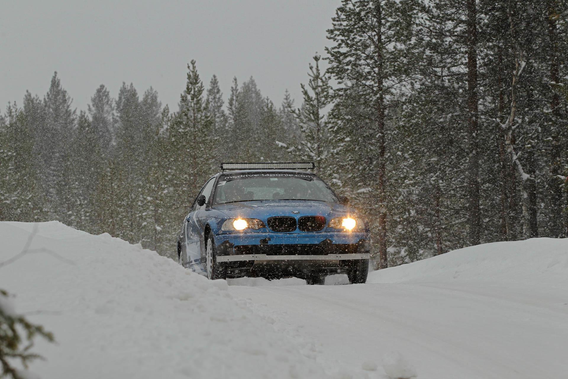 stage en laponie avec Ari Vatanen