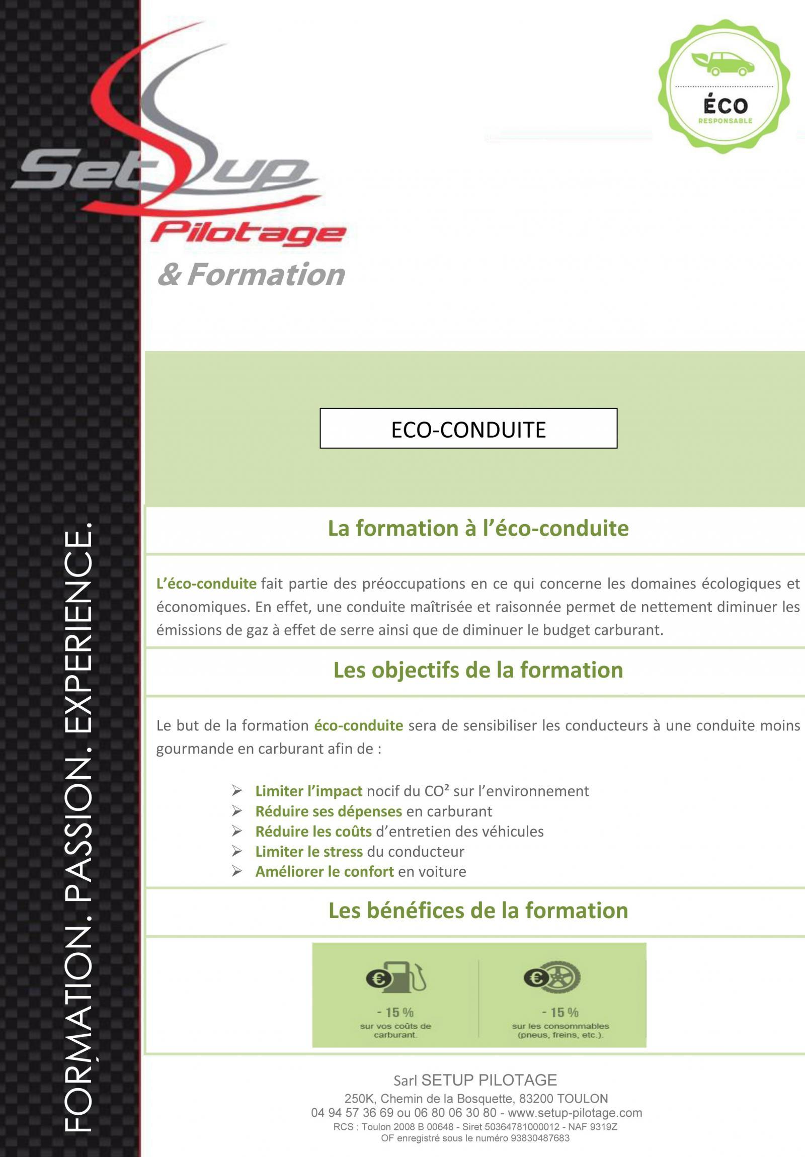 Formation eco p3